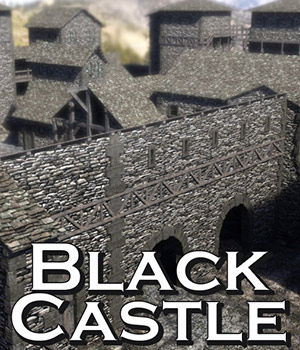 Black Castle for DS Iray 3D Models powerage