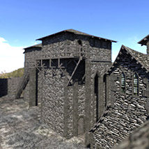 Black Castle for DS Iray image 1