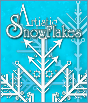 Artistic Snowflakes 2D Merchant Resources antje