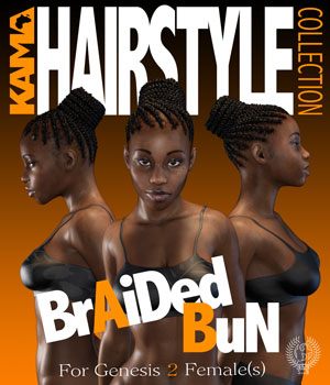 KHC BRAIDED BUN G2F
