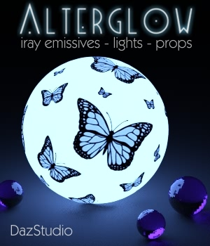 AlterGlow I - Iray Lighting System 3D Lighting : Cameras fabiana