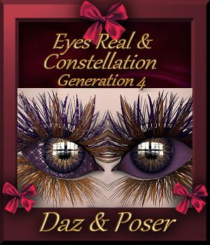 Constellation : Eyes Real 3D Figure Assets farfadelf