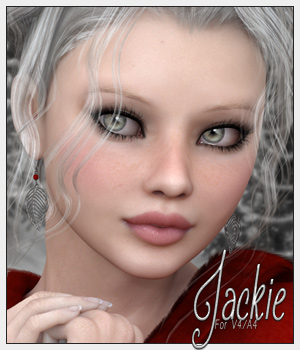 SV7 Jackie for V4/A4 3D Figure Essentials Seven