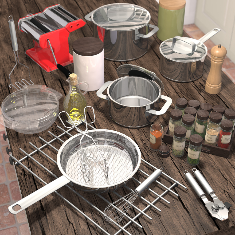 Everyday items, Kitchenware 2