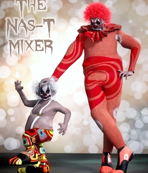 The Nas-T Mixer 3D Figure Essentials brahann