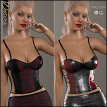 Desire for Leather Cami Set image 1