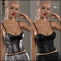 Desire for Leather Cami Set image 4