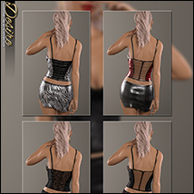 Desire for Leather Cami Set image 5