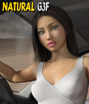 Natural - Expressions for G3V7Nata3 3D Figure Assets hameleon