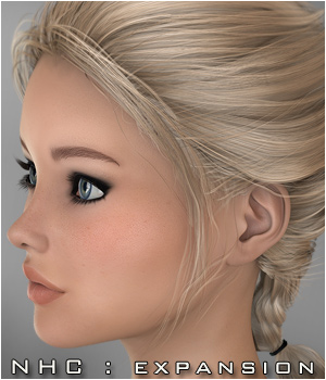 NHC Expansion : Jennifer Hair 3D Figure Assets P3D-Art