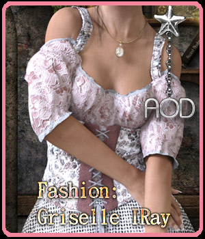 Fashion: Griselle IRay 3D Figure Assets ArtOfDreams