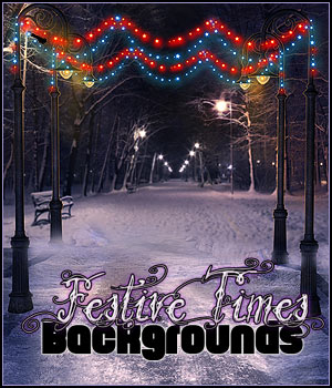 FS Festive Times Backgrounds 2D Graphics FrozenStar