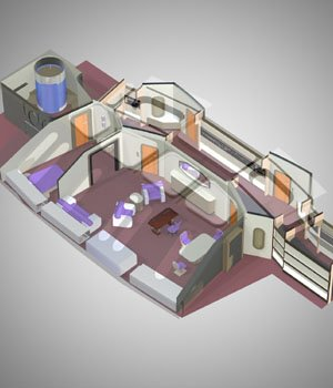 VIP Guest Room for Poser  3D Models VanishingPoint