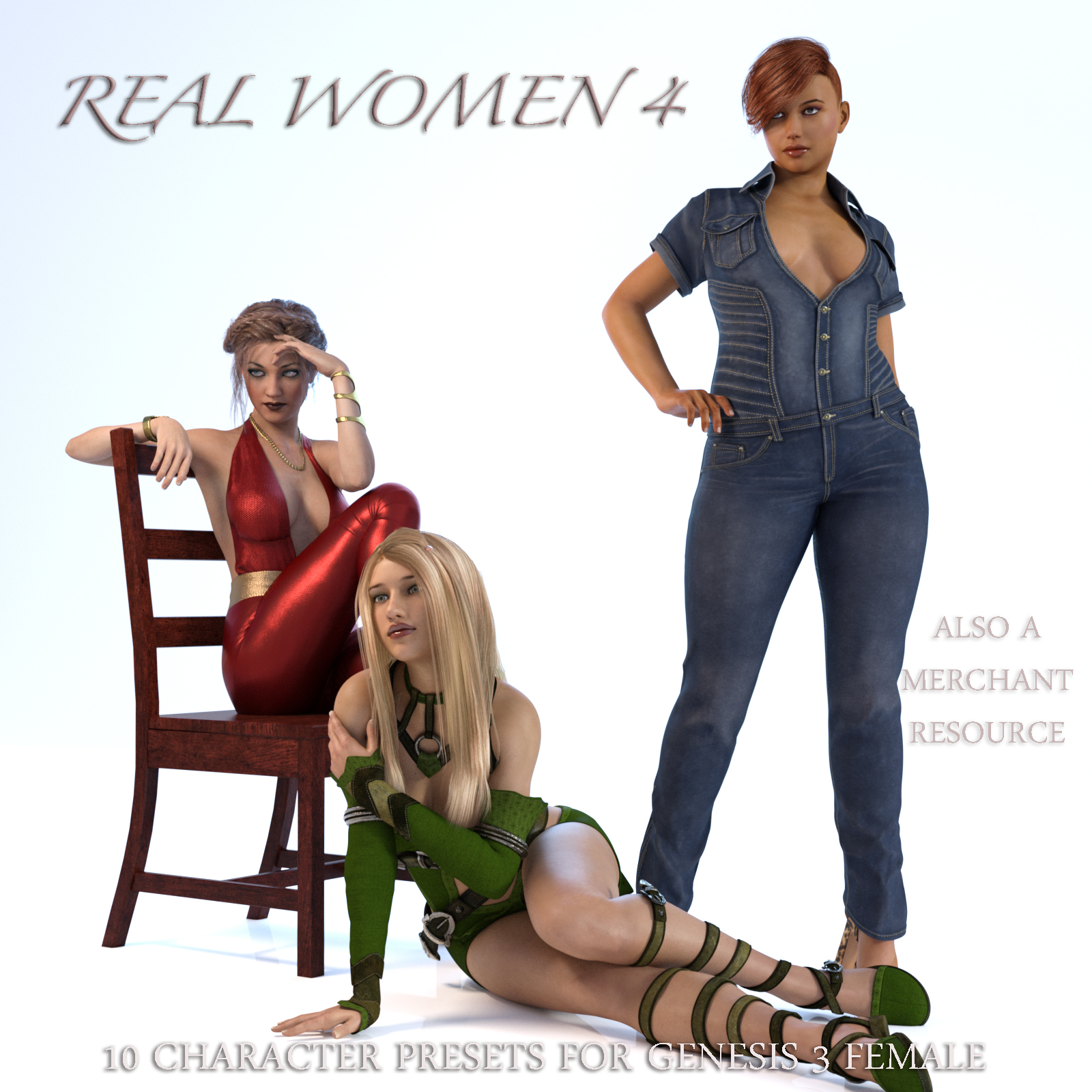 Real Women 4 by AliveSheCried