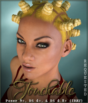 Touchable Bantu Knots 3D Figure Essentials -Wolfie-