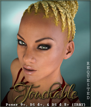 Touchable Braided Bun 3D Figure Essentials -Wolfie-
