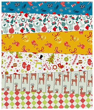 Christmas Fabric Prints 2D Merchant Resources Medeina
