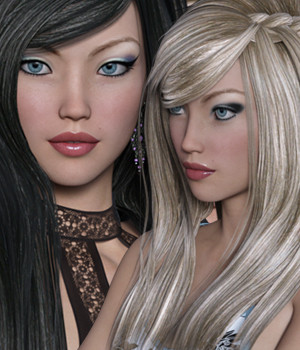Lemon Twist Hair and Livia Character Bundle by Silver