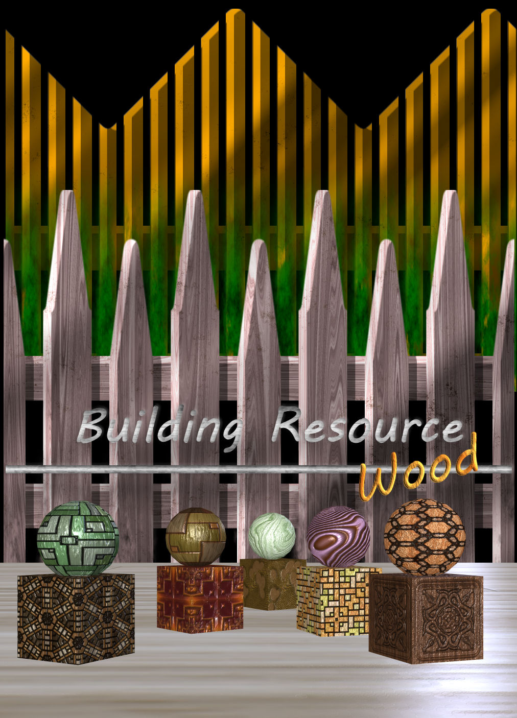 DA-Building VR - Wood by DarkAngelGrafics