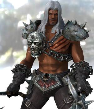 Barbarian 2 - Extended License 3D Figure Assets Extended Licenses 3D Game Models : OBJ : FBX KRBY