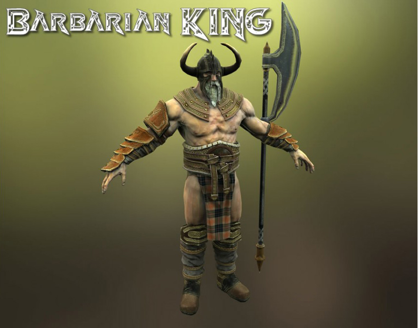Barbarian King - Extended License