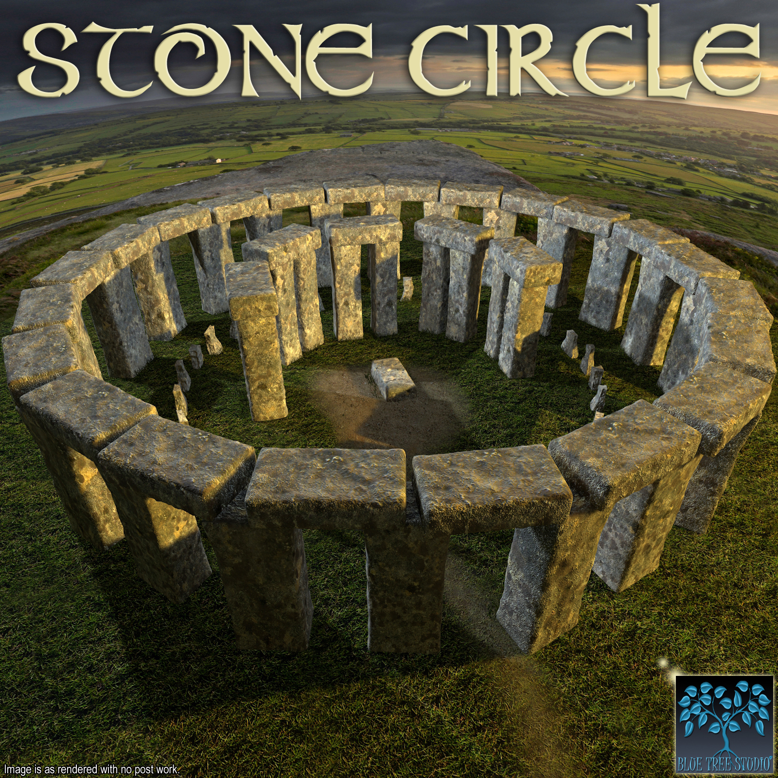 Stone Circle by BlueTreeStudio