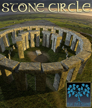 Stone Circle 3D Models BlueTreeStudio