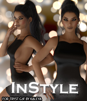 InStyle - Tryst G3F 3D Figure Assets -Valkyrie-