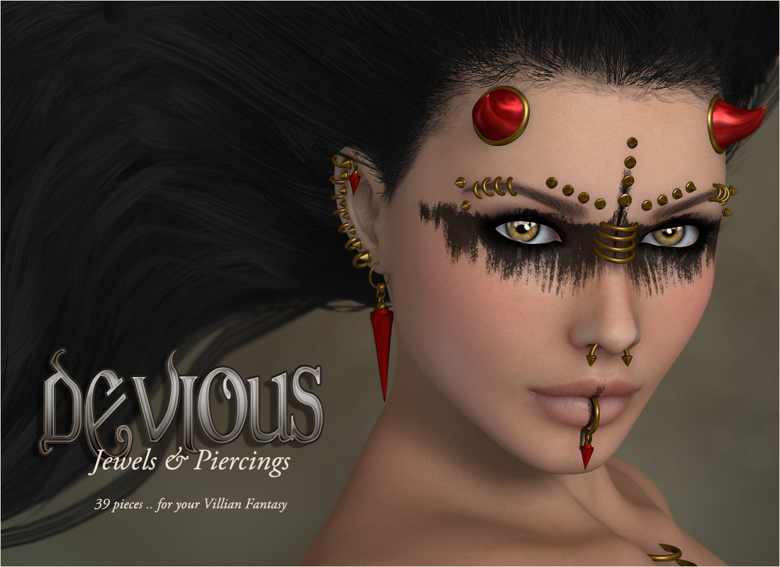 Devious - Jewelry Pierce - Extended License