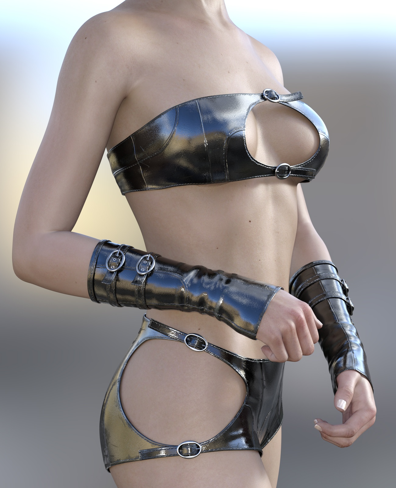 Strap Outfit for G3F