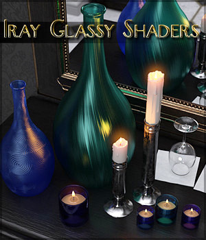 SV's Iray Glassy Shaders by Sveva