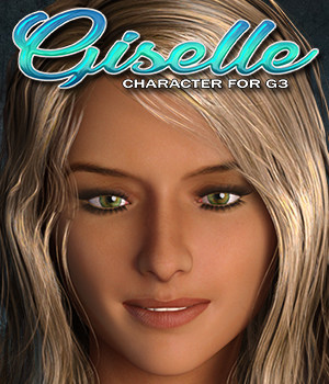 Exnem Giselle for G3 Female 3D Figure Assets exnem