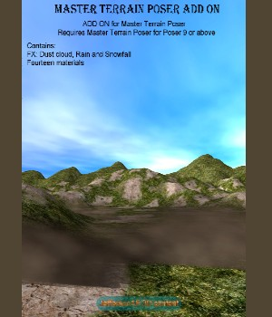 Master Terrain Poser ADD ON 3D Figure Essentials JeffersonAF