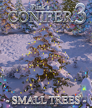 Flinks Conifer 3 - Small Trees 3D Models Flink