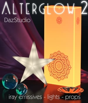 AlterGlow 2 - Iray Lighting System 3D Lighting : Cameras fabiana