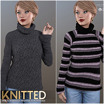 Knitted for Turtleneck Sweater image 4
