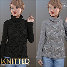 Knitted for Turtleneck Sweater image 6