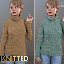Knitted for Turtleneck Sweater image 7