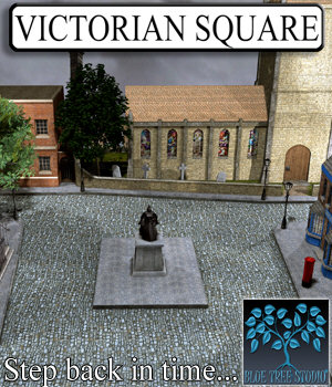 Victorian Square 3D Models BlueTreeStudio