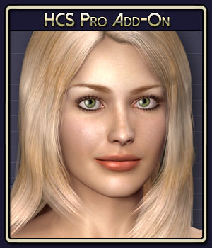 HCS Pro Add-On for Victoria 4 3D Figure Assets 3D Software : Poser : Daz Studio : iClone Netherworks