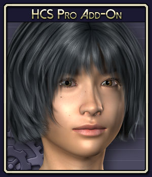 HCS Pro Add-On for Miki 3 3D Figure Assets 3D Software : Poser : Daz Studio : iClone Netherworks