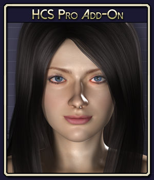 HCS Pro Add-On for Roxie 3D Figure Assets 3D Software : Poser : Daz Studio : iClone Netherworks