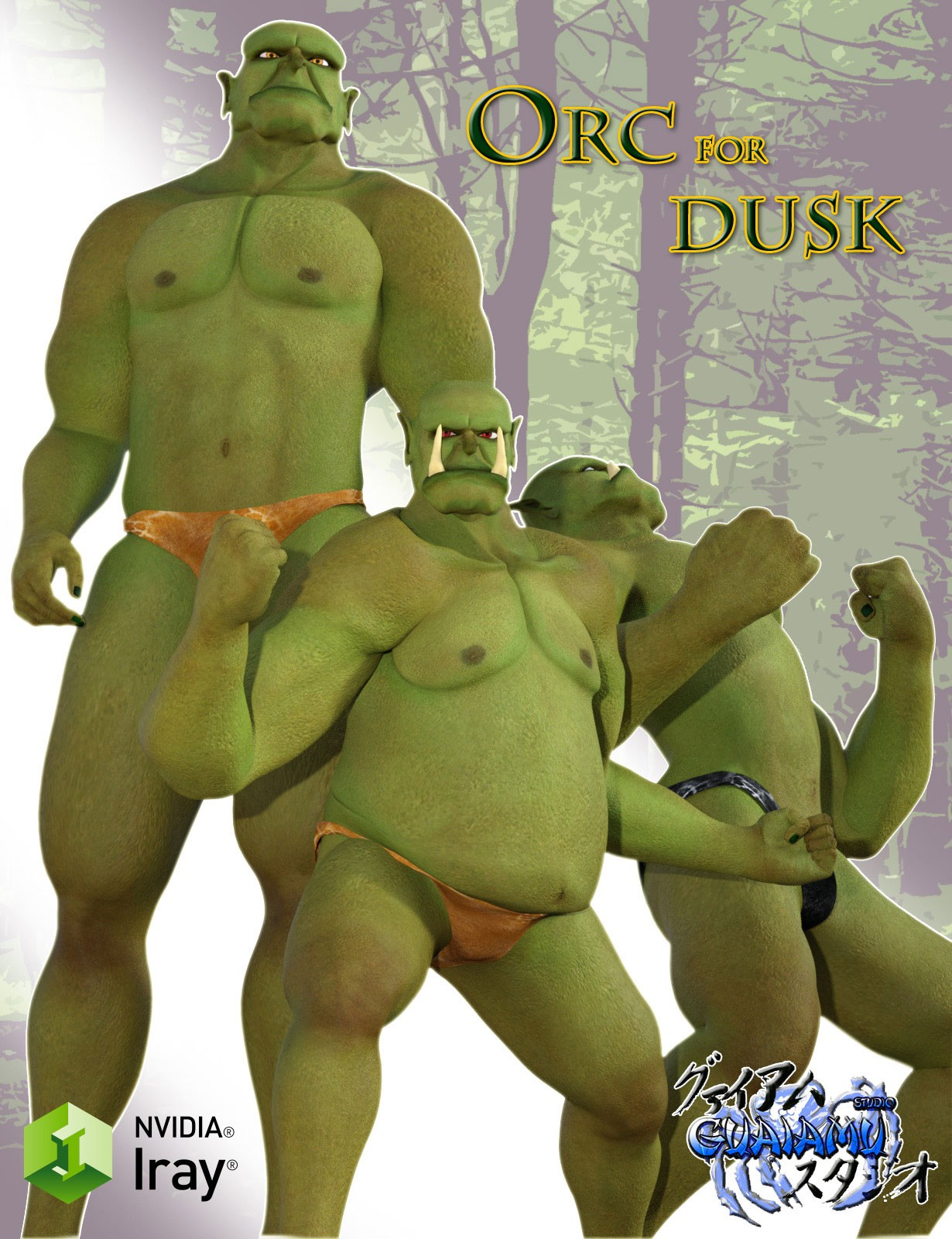 Orc for Dusk by guaiamustudio