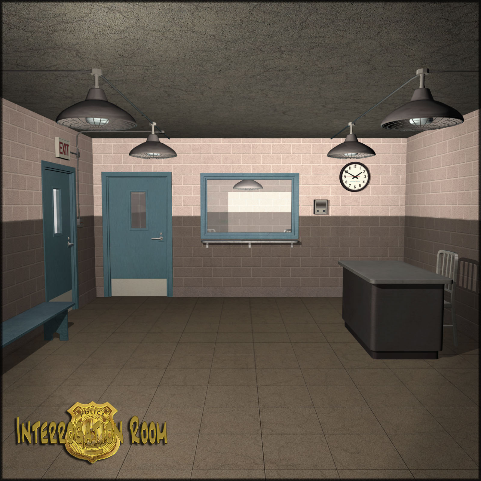The Interrogation Room 3d Models Richabri