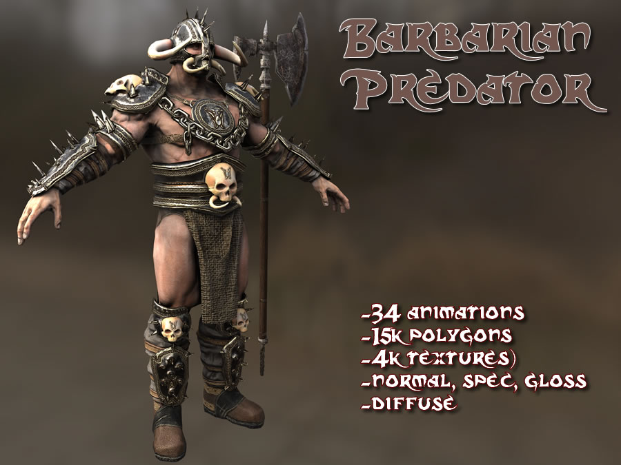 Barbarian Predator - Extended License