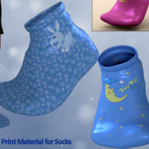 Baby Socks for Toon Generation 2 for Genesis 3 Male image 4