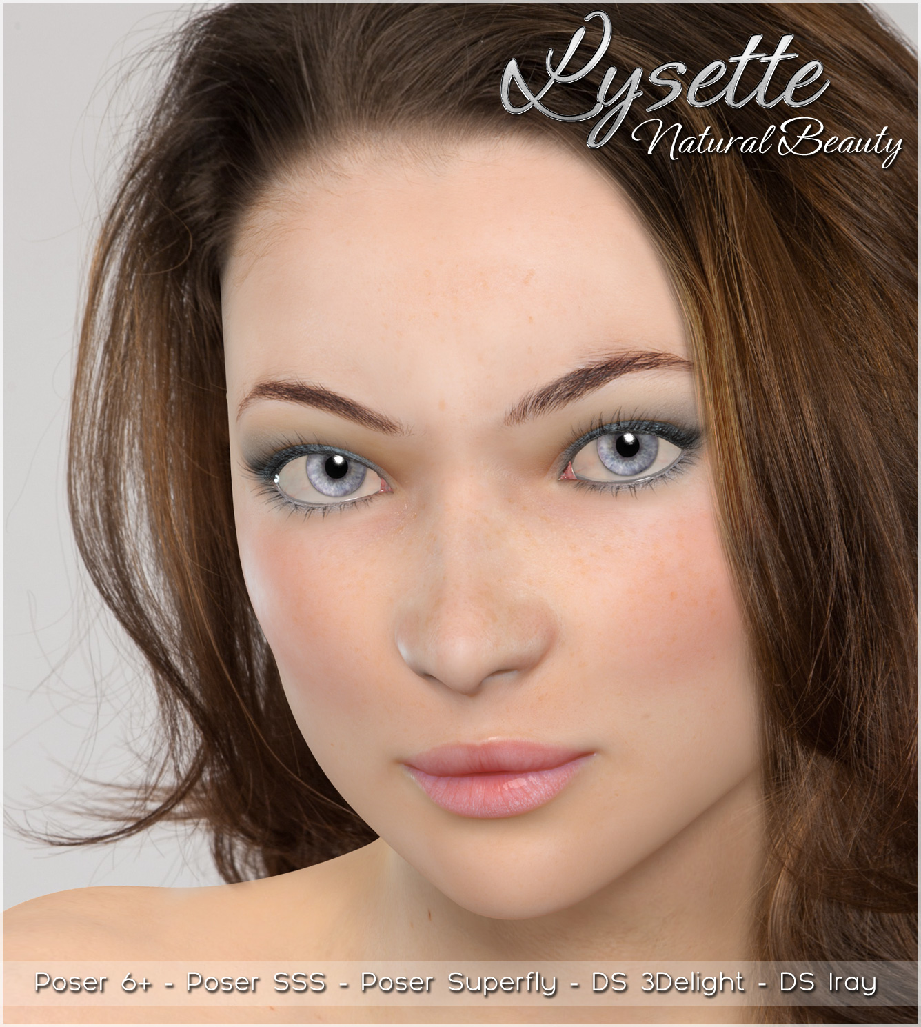 A3D Lysette Natural Beauty for V4