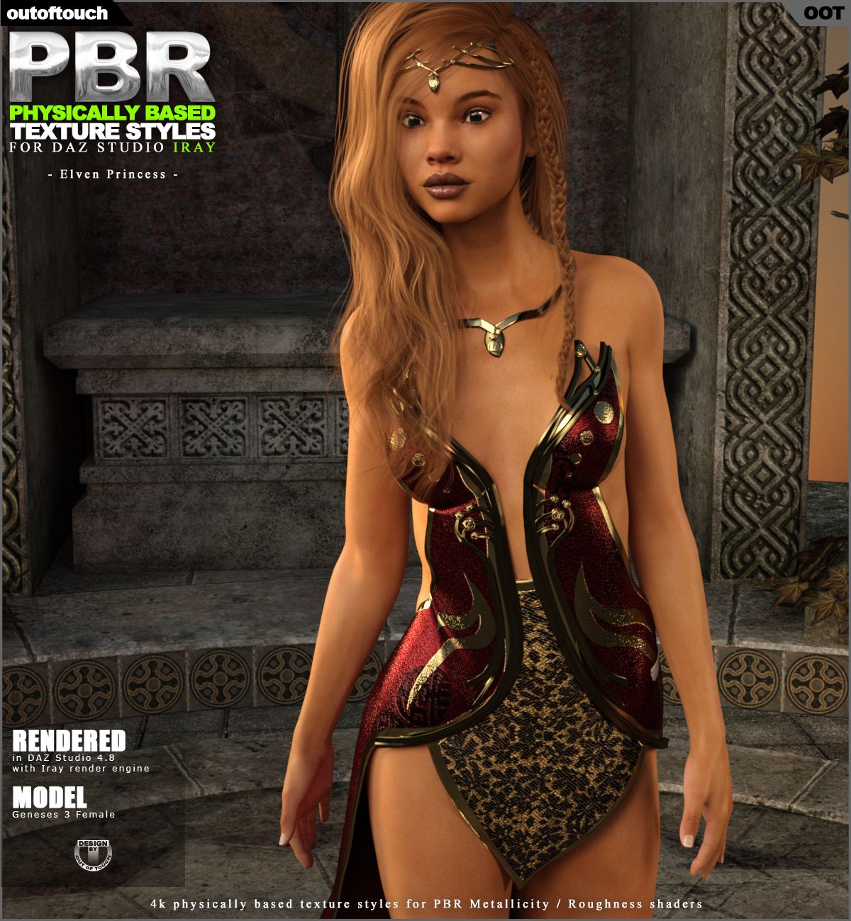 OOT PBR Texture Styles for Elven Princess
