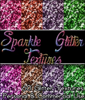 Glitter Textures! 2D Graphics Merchant Resources OriginalDoll84