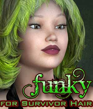 FUNKY for Survivor Hair by Divakatt